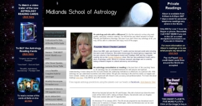 Midlands School of Astrology website